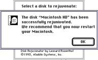 Disk Rejuvenator (1993)