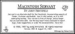 Servant (1986)