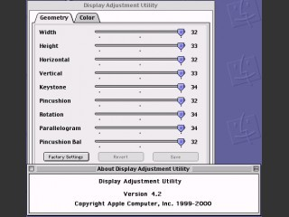Display Adjustment Utility (1999)