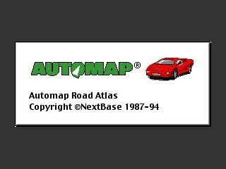 Automap Road Atlas 2.x (1994)