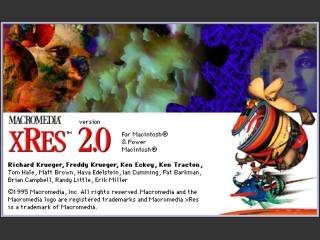 Macromedia Xres 2.0 (1995)