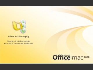 [731-01793] Microsoft Office 2008 for Mac with Service Pack 1 (2008)