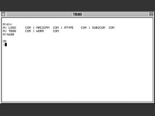 CP/M-80 Emulator (1989)