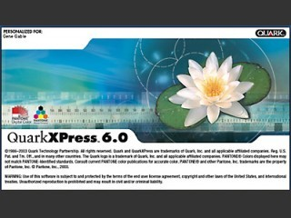 QuarkXpress 6.1 (2004)