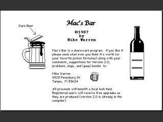 Mac's Bar (1987)