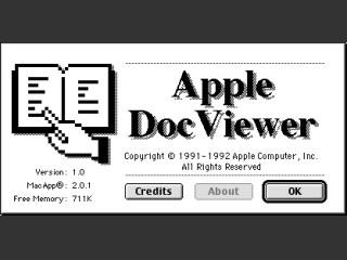 Apple DocViewer 1.0 (1992)