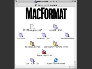 MacFormat CD # 128 (April 2003) (2003)