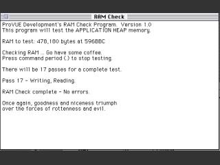 RAM Check (1989)