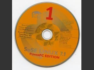SuSE Linux 7.1 PowerPC Edition (SU7100.001) (2001)