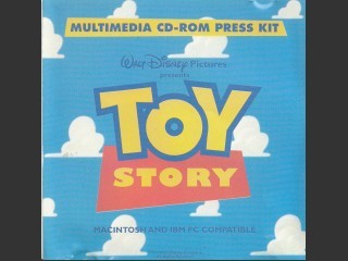 Toy Story Multimedia CD-ROM Press Kit (1995)