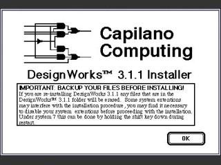 DesignWorks 3.1.1 for 68K (1992)