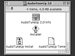 AudioTuneUp 2.0 (Mac OS 8.1 patch) (1998)