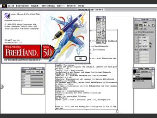 Macromedia Freehand 5.0.1-D (1995)