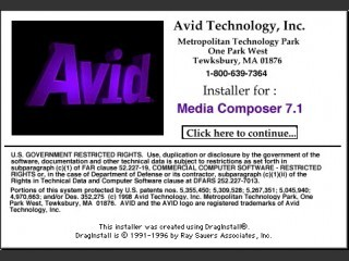 Avid Media/Film Composer 7.x (1998)