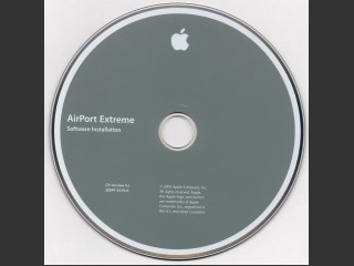691-5219-A,2Z,AirPort Extreme Software Installation. Disc v4.1 (2004)