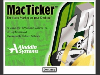 Aladdin MacTicker (1999)