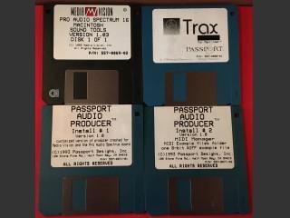 MediaVision Nubus Pro Audiospectrum 16 Diskettes (0)