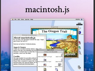 macintosh.js (Basilisk II for dummies) (2020)