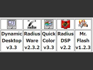 Radius video card Drivers (1992)
