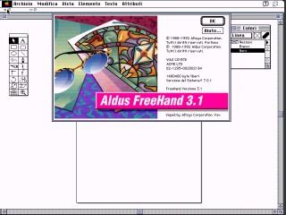 Aldus Freehand 3.1 Italian (1992)