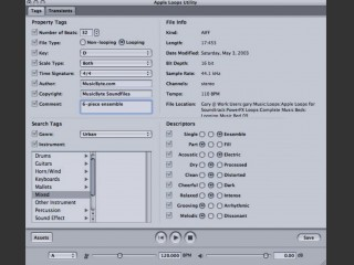 Apple Loops Utility 3.0.1 & SDK 1.3.1 (2005)