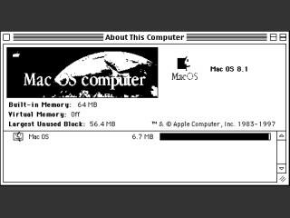 MacOS 8.0 & 8.1 68030 patch (2002)