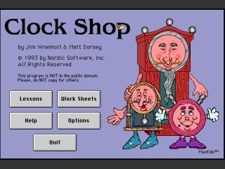 Clock Shop (1993)