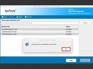 SysTools Mac PDF Unlocker Tool (2019)