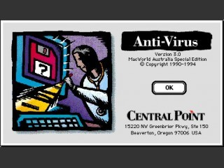 Central Point Anti-Virus 3.0b (1994)