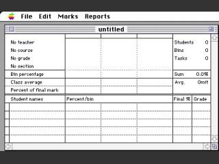 Mac School CSL Marks (1988)