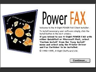 4-Sight Fax 3.1 (1995)
