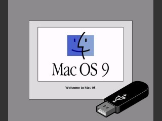 """Mac OS 9.2.2 """"boot kit"""" for booting your G3/G4 from an USB stick (2002)"""