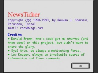 NewsTicker (1998)