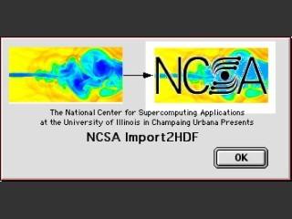 NCSA Import2HDF 1.0.4 (1993)