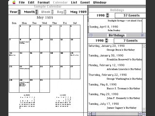Calendar Creator (1990)