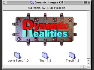 Dynamic Realities Lightwave Plugins (Lume Tools 1.0, Thor 1.2, TreeD 1.2) (1999)