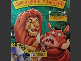 Libro Animato Interattivo Il Re Leone (1995)