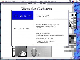 Claris Mac Paint (1988)