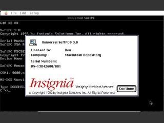 SoftPC Universal 3.0 (1992)