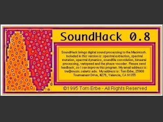 SoundHack 0.8 (1995)