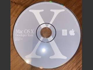 691-3169 Mac OS X Developer Tools 10.1 (2001)