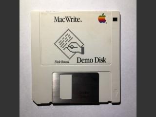 MacWrite Demo Disk (1986)