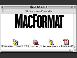 MacFormat CD # 125 (January 2003) (2002)