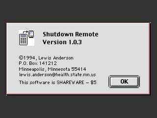 Shutdown Remote (1993)