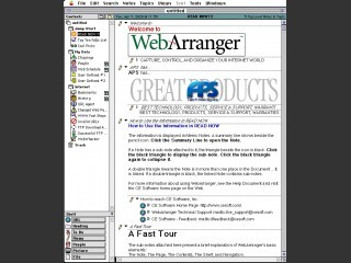 Web Arranger (DEMO) (1996)