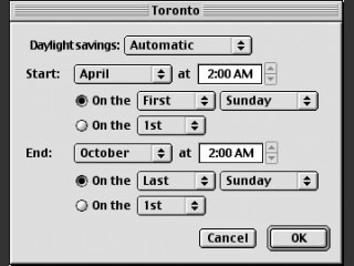 Daylight Savings Editor (2007)