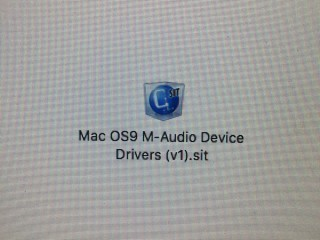Mac OS9 M-Audio Device Drivers (1999)