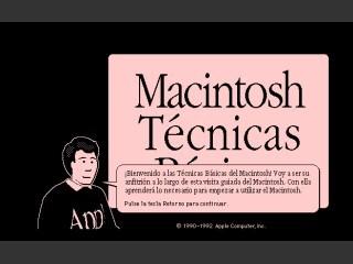 Macintosh Técnicas Bàsicas (1992)