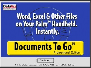 Documents To Go Professional Edition 3.0 (2000)