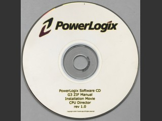 Powerlogix G3 ZIF software for processor upgrade (2004)